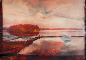 American Lake, WA C4 Matthew Brandt. Image © Matthew Brandt courtesy M+B Gallery