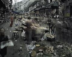 Market 2 (Old City 2, no. 1), Qin Wen