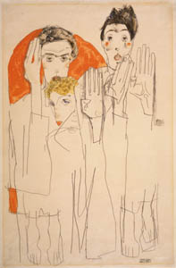 Egon Schiele, Seers, Image courtesy Prestel and Galerie St. Etienne