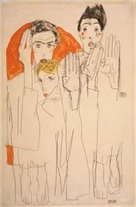 Egon Schiele, Seers, Image courtesy Prestel and Galerie St. Etienne