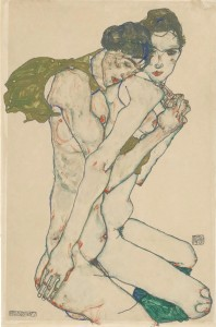 Egon Schiele - Friendship, Image courtesy Prestel and Galerie St. Etienne