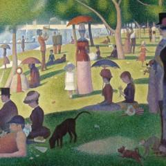 Georges Seurat - A Sunday on La Grande Jatte - galleryIntell
