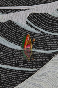Hema Upadhyay, The Wave, detail
