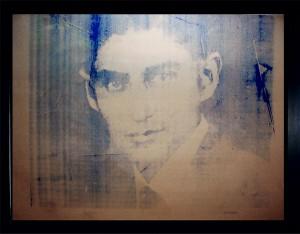 Warhol- Kafka print Art Miami