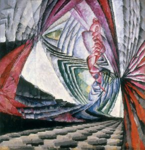 František Kupka, 'Localisations de mobiles graphiques I' (Localization of graphic motifs I), 1912–13. Oil on canvas (1)