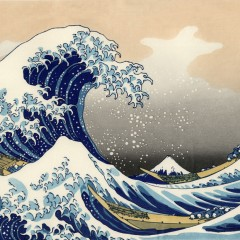Hokusai, The Great Wave off Kanagawa