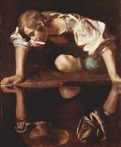 Michelangelo Caravaggio, Narcissus at the Source