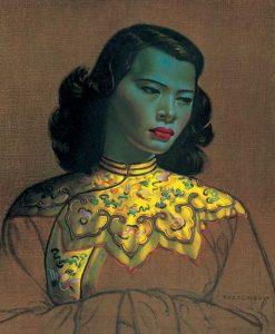Vladimir Tretchikoff, 'The Green Lady', on galleryIntell