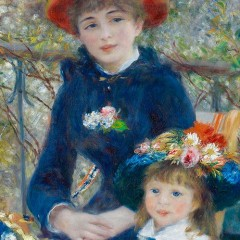 Pierre Auguste Renoir - Two Sisters (On the Terrace)
