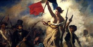 Eugène Delacroix 'Liberty Leading the People'