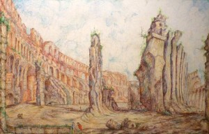 Kysa Johnson - Empire Loop Piranesi's Ruins of Rome