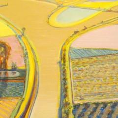 Wayne Thiebaud - River Intersection