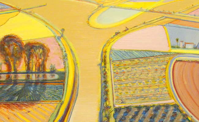 Wayne Thiebaud - River Intersection