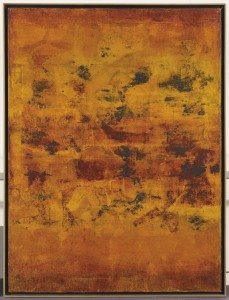 Gaitonde, Untitled. Image courtesy Christie's Images, Ltd.