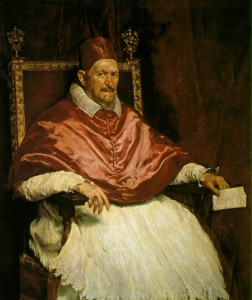 Diego Velazquez, Pope Innocent X