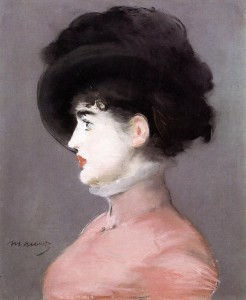 Edouard Manet, 'La Viennoise, Portrait d'Irma Brunner', 1880. Pastel on canvas. In the collection of Musée d'Orsay
