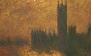 Houses of Parliament, stormy sky, 1904