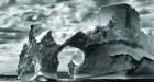Sebastiao Salgado, Iceberg. Image Peter Fetterman Gallery
