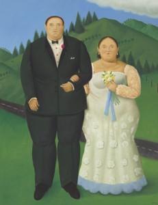 Fernando Botero - Country Wedding