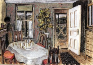Grandmother's Kitchen, Homestead, 1962