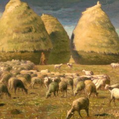 Jean-Francois Millet, Haystacks, Autumn