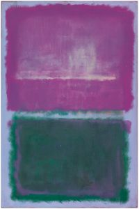 Mark Rothko, 'Untitled (lavender and Green)', 1952. The painting sold within its estimate for $20 million. Image courtesy Sotheby's