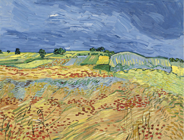 Vincent Van Gogh, 'The Fields' 1890. The painting failed to sell at Sotheby's Evening Sale in 2007
