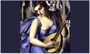 Tamara de Lempicka - the musician