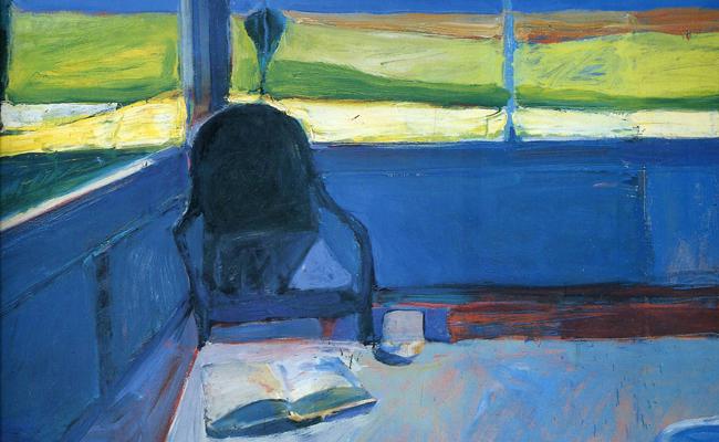 Interior with a Book, 1959. Richard Diebenkorn