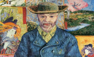 Vincent Van Gogh Portrait of Pere Tanguy