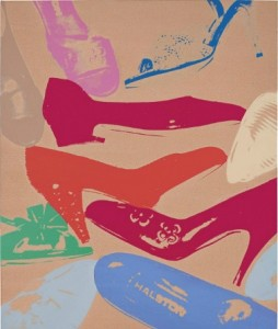 Andy Warhol. Diamond Dust Shoes at Christie's New York