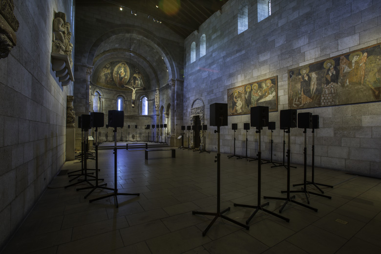 Image of the installation at The Cloisters. Image courtesy: The Metropolitan Museum of Art, New York