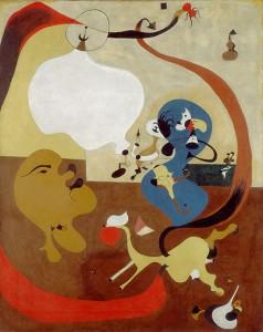 Dutch Interior II (Intérieur Hollandais II), summer 1928 Oil on canvas, 92 x 73 cm Peggy Guggenheim Collection, Venice 76.2553 PG 92 © Successió Miró, by SIAE 2008