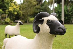 Les Lalannes, 'Concrete Sheep'