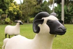 Les Lalannes, 'Concrete Sheep'