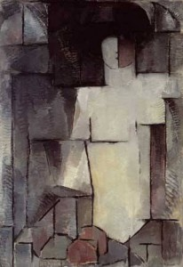 Piet Mondrian, The Large Nude, 1912. Oil on canvas