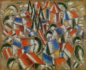 Fernand Leger. The Village