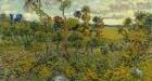 Van Gogh, 'Sunset at Montmajour', 1888, Oil on canvas
