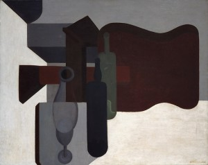 Guitar and Bottles (Guitare et bouteilles), 1920 Oil on canvas, 80.5 x 99.8 cm Peggy Guggenheim Collection, Venice 76.2553 PG 24 © Amédée Ozenfant, by SIAE 2008