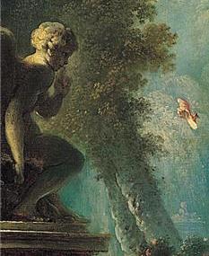 The Swing By Jean Honoré Fragonard On Artex
