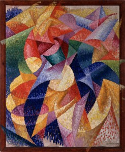 Gino Severini. Sea Dancer, 1914. Oil on canvas. Peggy Guggenheim Collection, Venice
