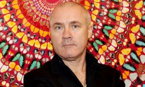 Damien Hirst at Tate Modern in April 2012