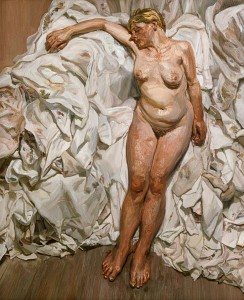 Standing By The Rags, Lucian Freud