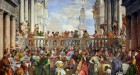 Paolo Cagliari (Veronese) Les Noces De Cana, The Wedding Feast at Cana, 1563. In the collection of the Louvre Museum, Paris