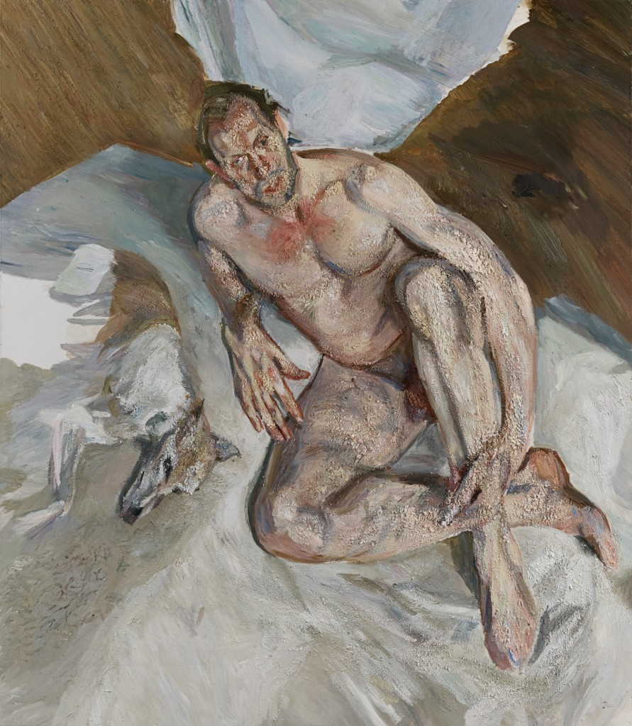 Lucian Freud Portrait of the Hound