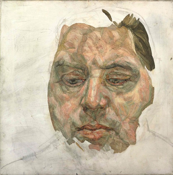 Lucian Freud, Portrait of Francis Bacon