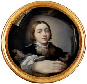 Parmigianino, Self-portrait in a Convex Mirror