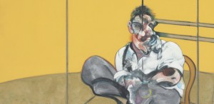 Francis bacon Portrait of Lucian Freud, Center Panel