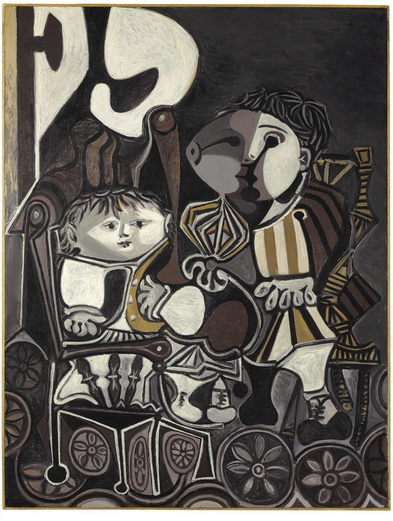Pablo Picasso - Claude et Paloma, 1950 Christie's Jan Krugier sale