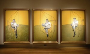 Francis Bacon, 'Three Studies of Lucian Freud'